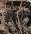 "US Special Forces with Knights Armament (KAC) SR-15 CQB Mod 2 11.5"" MLOK Carbine Rifle (NFA item)"