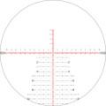 Nightforce Mil XT reticle on zoom