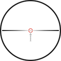 Kahles Si1 reticle for the K16i 1-6x close quarter tactical scope in SFP
