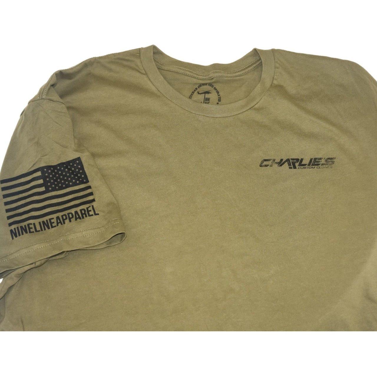 Charlies Quality T Shirts From Nine Line Charlies Custom Clones