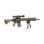 "HK MR762 A1 Military Style Long Rifle Package II 7.62 NATO 16-1/2"" barrel w/ Leupold scope"