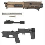 Maxium FDE black arid pistol build kit