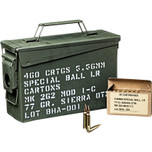 Black Hills Mk262 Mod1 ammo can 5.56mm 77 gr OTM