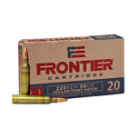 Hornady Frontier Rifle 223 Rem 55 gr Hollow Point Match 20 rnd box