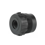 Dead Air Fixed Mount 1/2x36 9mm for Wolfman, Ghost-M and Wolf 9SD