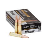 Sig 300 BLK, 220 gr, Subsonic Elite Match OTM ammunition, box of 20