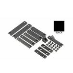 Knights Armament (KAC) URX III and 3.1 Deluxe Rail Panel Kit - Black