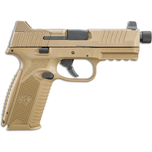 FN 509 Tactical 9mm pistol, 24+1 and 17+1, FDE