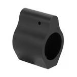 Low Profile mil-spec .750 anodized black aluminum gas block