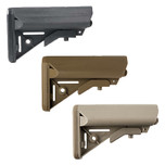 B5 SOPMOD Gen2 stock in black, coyote and FDE