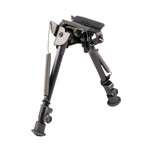 Harris Bipod 9-13 in swivel with notched legs S-LM