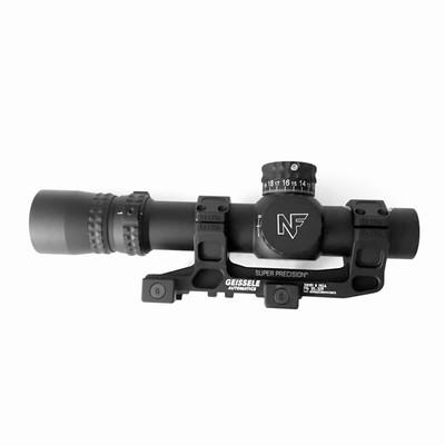 Nightforce NX8 1-8x24mm F1 Scope with Geissele Mount Combo