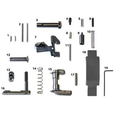 Geissele Super Duty Lower Parts Kit in black