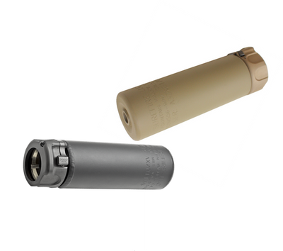 Surefire SOCOM 556 mini Gen 1 in black and FDE