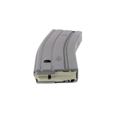 Mil-Spec USGI M4/M16 30-round gray magazine Surefeed from Okay Industries