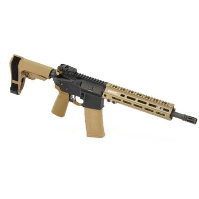 """Geissele 11.5"""" Pistol Black n Tan 5.56mm custom kit"""