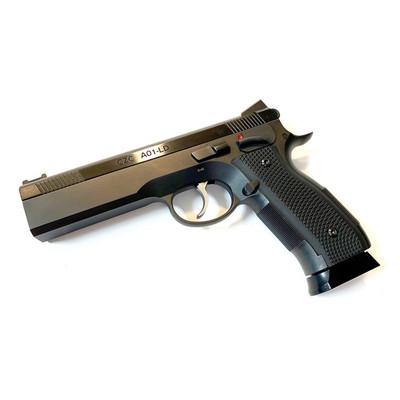 """CZ A01-LD Custom 9mm Pistol, steel frame, 19 rnds, 4.9"""" bull barrel"""