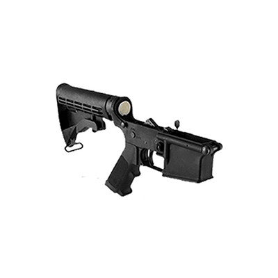 Colt M4 lower receiver, complete 2020 / 2021 Carbine production  with Colt M4 waffle stock
