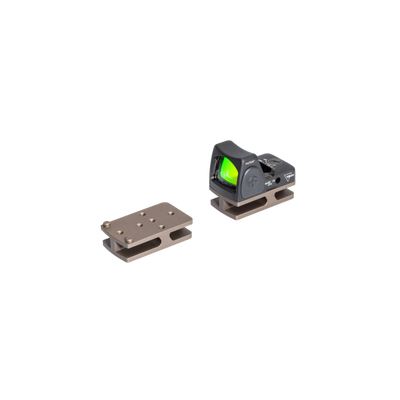 Badger Ordnance Condition One Micro Sight Mount - Trijicon RMR - Tan