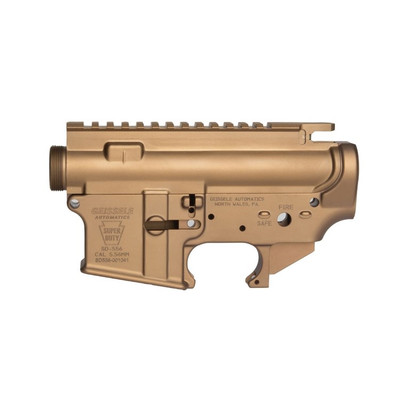 Geissele Super Duty Forged AR15 Upper/Lower Receiver Matched Set - DDC