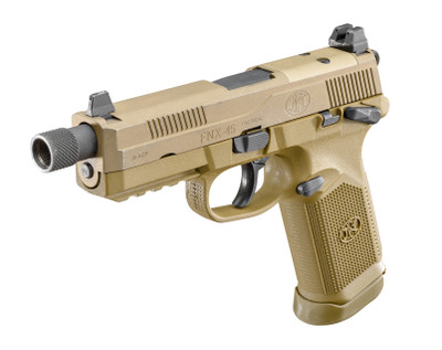 FN FNX-45 Tactical Pistol 15 rnd 45 ACP night sights - FDE