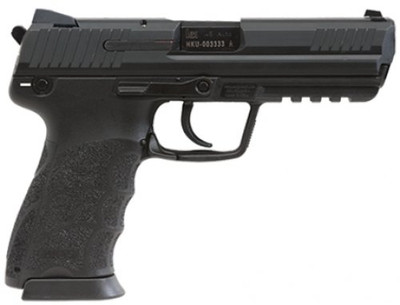 """Heckler & Koch - HK45 (V7) .45 ACP Pistol, 4.46"""" Barrel, Night Sights, 10+1, Polymer Black"""