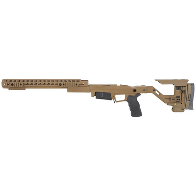 AI AXSR AICS Folding Chassis in FDE for Remington 700 SA