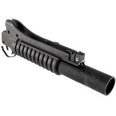 """LMT M203 12"""" Grenade Launcher, 37mm barrel, special purchase"""