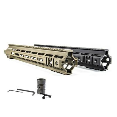 "Geissele Super Modular Rail Mk4 M-LOK 13"" Black and DDC - new old stock"