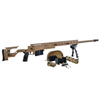 Accuracy International ASR Advanced Sniper System kit with 3 barrels