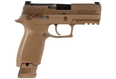 Sig Sauer P320 M18 Commemorative 9mm military pistol