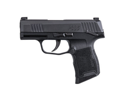 Sig Sauer P365 9mm micro-compact pistol Manual Safety - 10 rounds