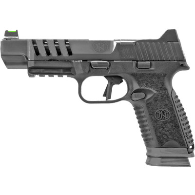 "FN 509 LS Edge 9mm Tactical Pistol 5"" optics ready Black / Gray 17 rnd"