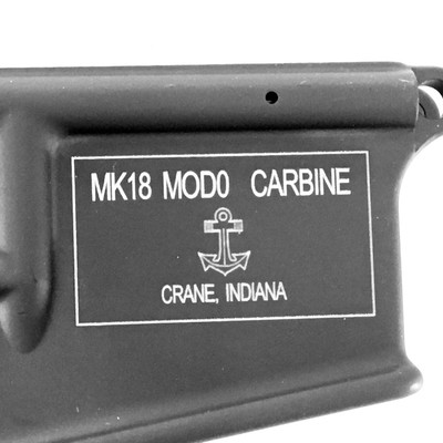 Mk18 Mod 0 pistol eligible stripped lower receiver -virgin from Colt