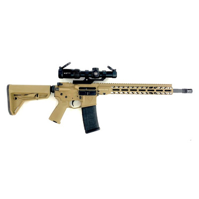 Stag 15 FDE Tactical Rifle and Vortex 1-8x LPVO Combo