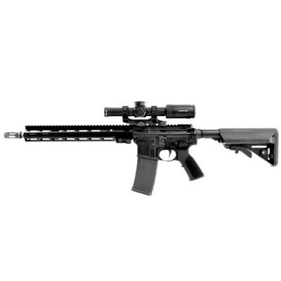Geissele Super Duty Luna Black Rifle and LPVO Vortex Optic Combo