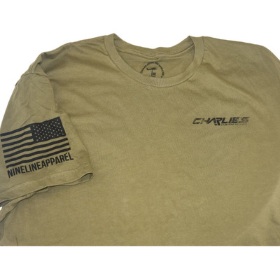 Charlie's quality T-Shirts from Nine Line