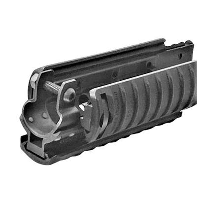 Knights Armament KAC MP5 RAS rail adapter with 11-ribbed KAC covers