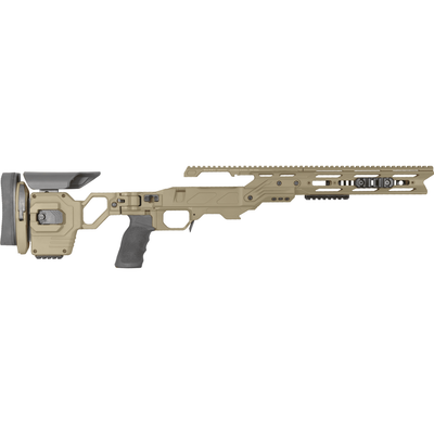 Cadex Lite Strike Remington SA, .308 or 6.5 CM Tan Chassis