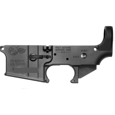 Colt M4 lower receiver, stripped (2019/2020)