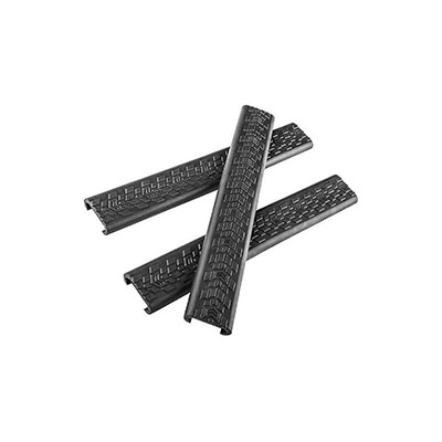 Daniel Defense new rail covers, black, factory 3 pack