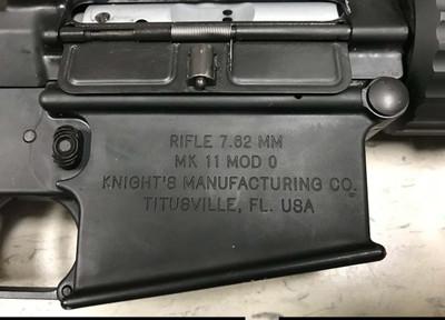 Knights Armament SR25 Mk11 Mod 0