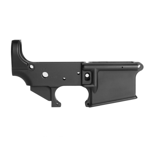 Geissele mil-spec lower receiver 5.56 Super Duty shown on firearm