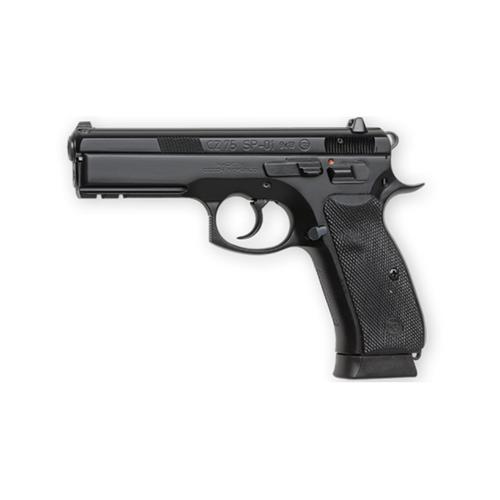 CZ 75 SP-01 9mm Pistol, steel frame, 18 rnds, night sights