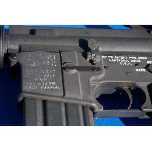 Colt M16a1 Retro Re Issue Semi Automatic Rifle Charlie S Custom Clones