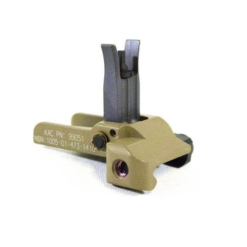 traditional taupe front sight M4 BUIS back-up iron sight from KAC 99051