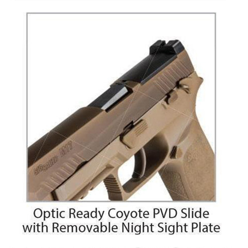 Sig Sauer P320 RX Pistol with Reflex Optic - Charlie's Custom Clones