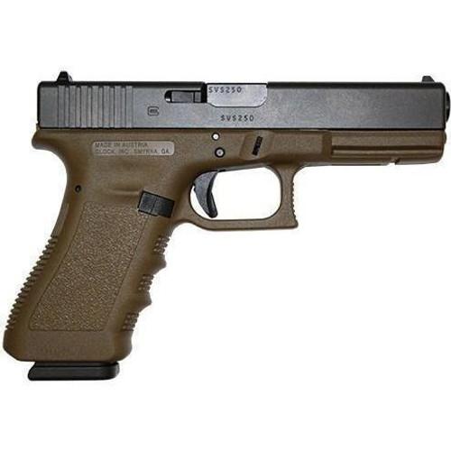 Glock G17 FDE 9mm Gen 3