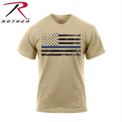 Rothco Thin Blue Line T-Shirt 1
