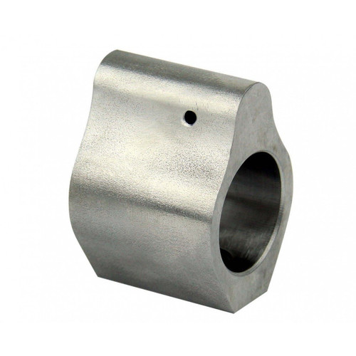 Low Profile .750 Stainless Steel gas block